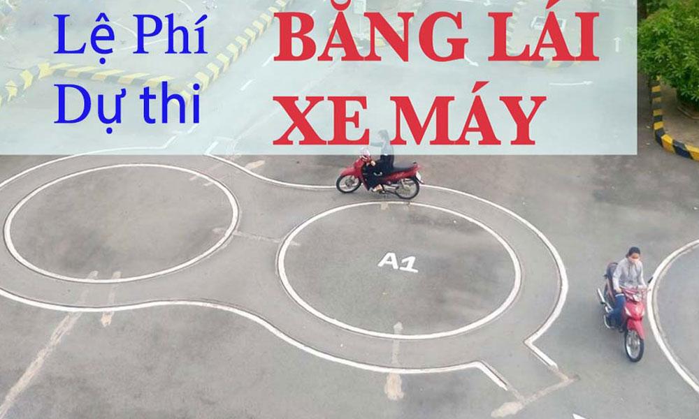 le-phi-du-thi-bang-lai-xe-hang-A1