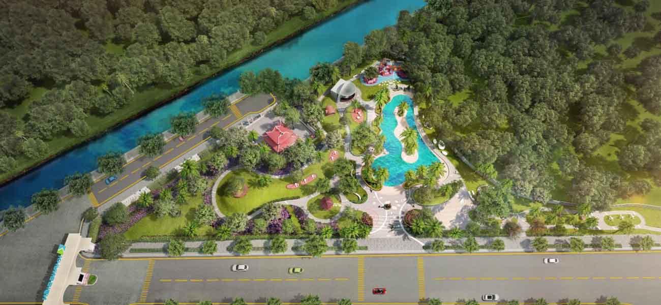 Công viên Armena Khang Điền rộng
