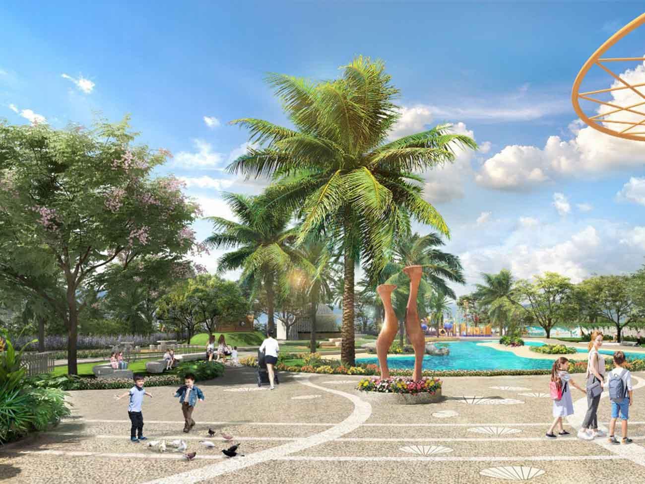 Tiện ích công viên Armena Khang Điền rộng rãi